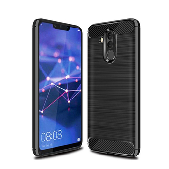 Rugged Tough Shockproof Tpu Carbon Fiber Texture Case Cover For Huawei Mate 20 Lite
