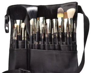 Cosmetic Tool Belt custom logo makeup brush set