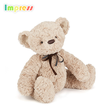 2017 organic baby baby toys teddy bear animal plush bear toy