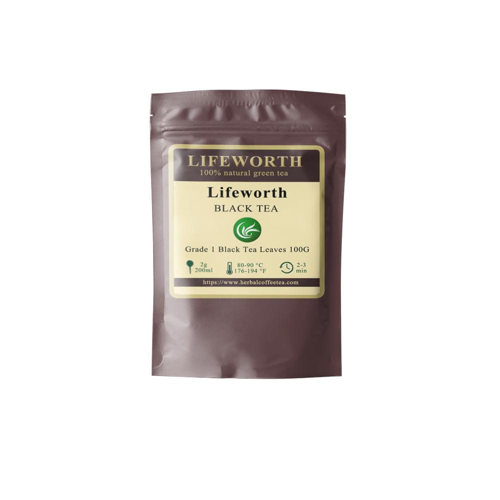 Lifeworth bulk chinese black tea leaves - 4uTea | 4uTea.com