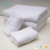 Luxury durable 16s sprial satin white 100% cotton bath custom hotel towel