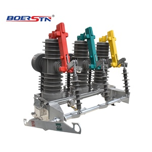 ZW43-12 Outdoor 12KV 630A Vacuum Circuit Breaker with Sauce Side Isolation Switch & Motorized Operation Mechanism