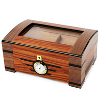 Christmas Customized Logo Large Commercial High-grade Multi-layer Cigar Humidors for Sale Used Humidor Cabinet