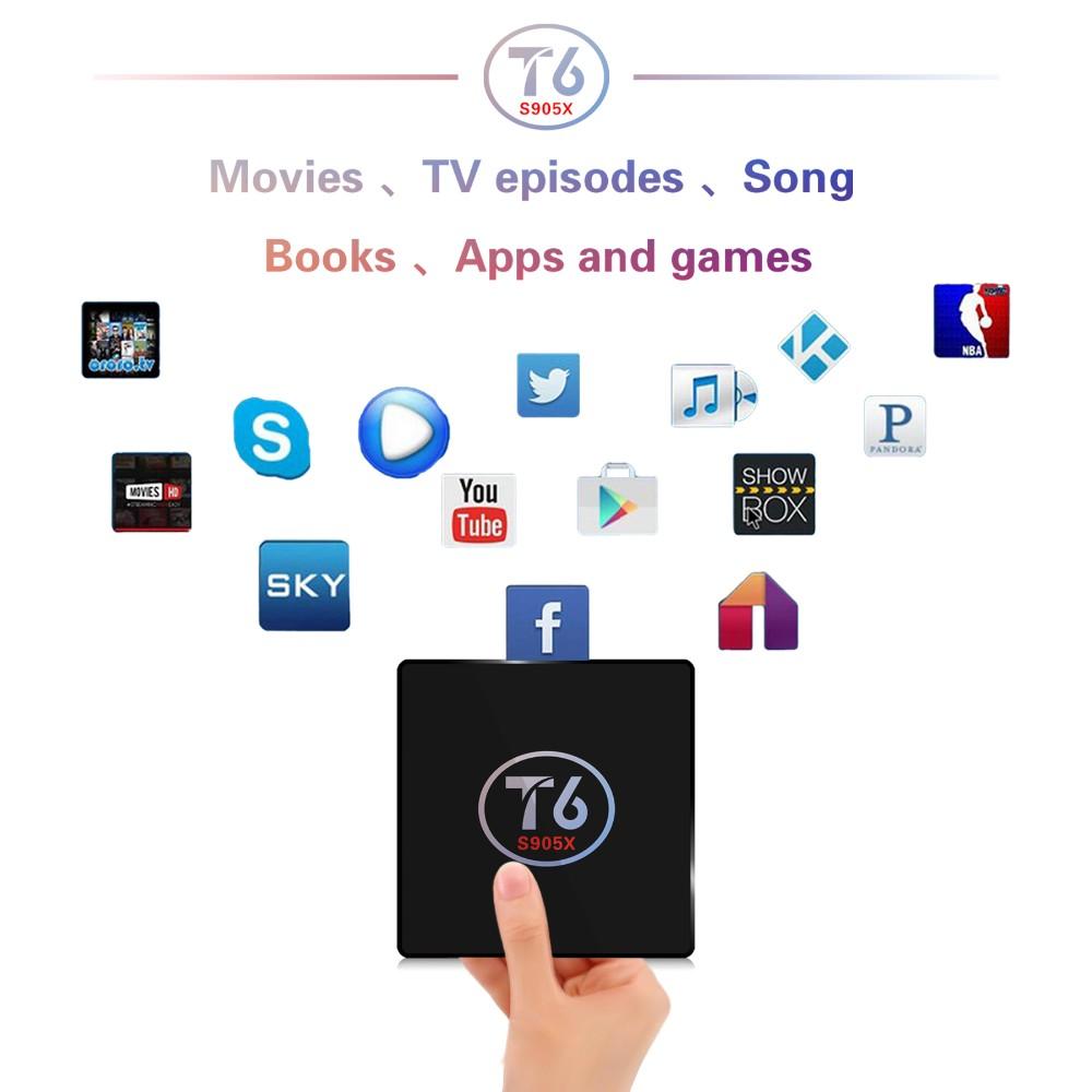 Hot Arabic French Nordic Iptv Royal Iptv 1800 Livetv And T6 Amlogic S905x  Smart Android 7 1 Tv Box 2gb 16gb 4k Set Top Box - Buy S905x,S905x T6,S905x