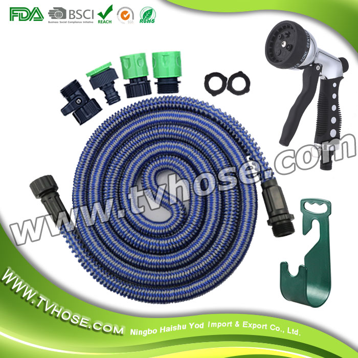 Compatible high pressure for watering plants, car wash and showering pets tube