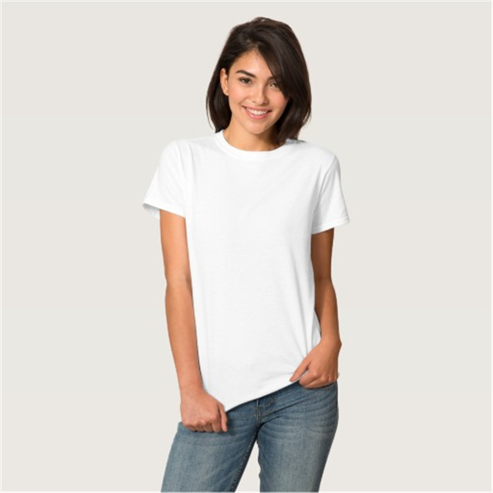 Custom 100 Cotton T Shirt Blank White Women