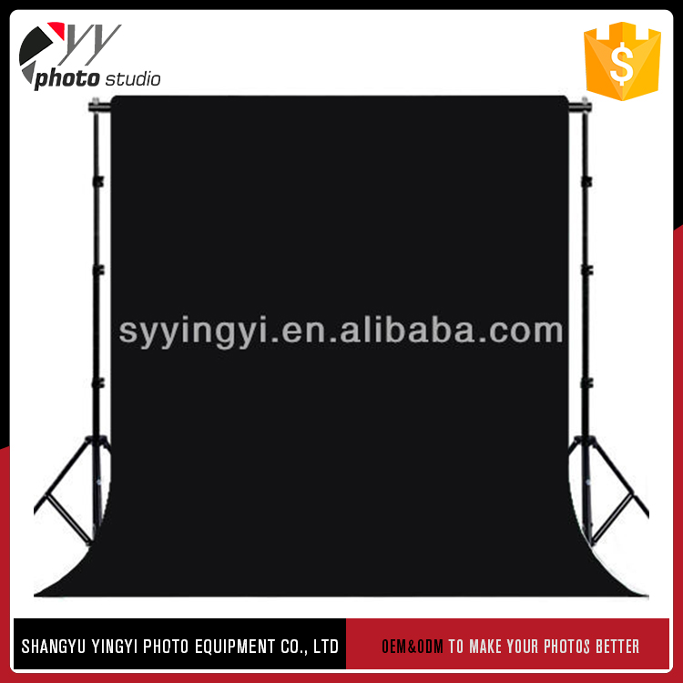 Factory sale various widely used 3*6m photography background chromakey cotton muslin backdrops