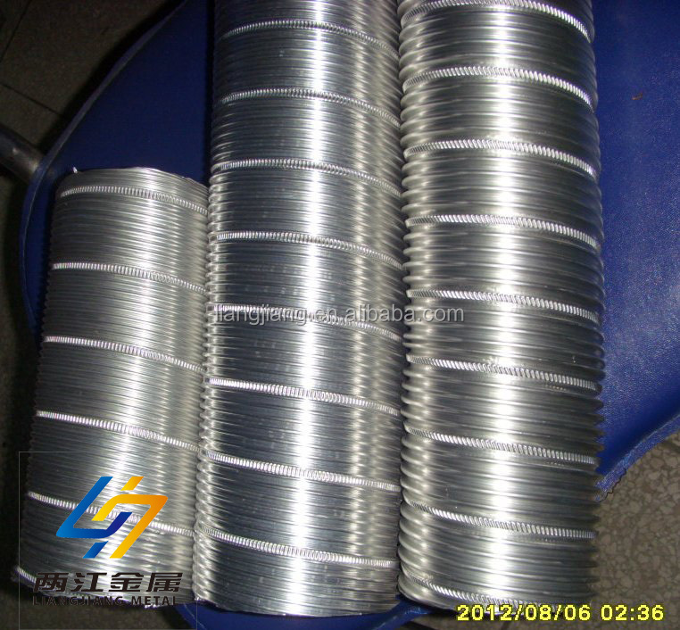 Flexible stainless steel foil duct making machine buy