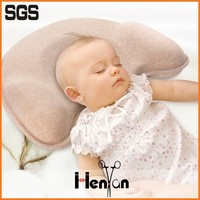 wholesale custom printed baby pillow flat head, baby flat head pillow