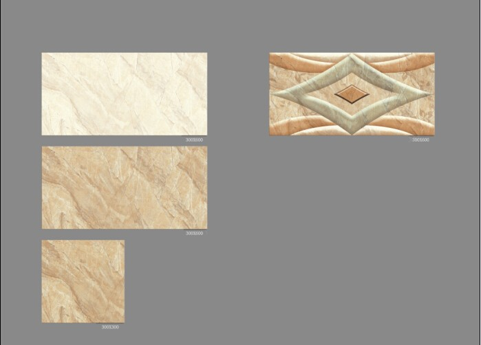Hot sale!!Zibo tiles ,High Quality bathroom indoors wall tile Non-slip Ceramic Glazed Floor tiles