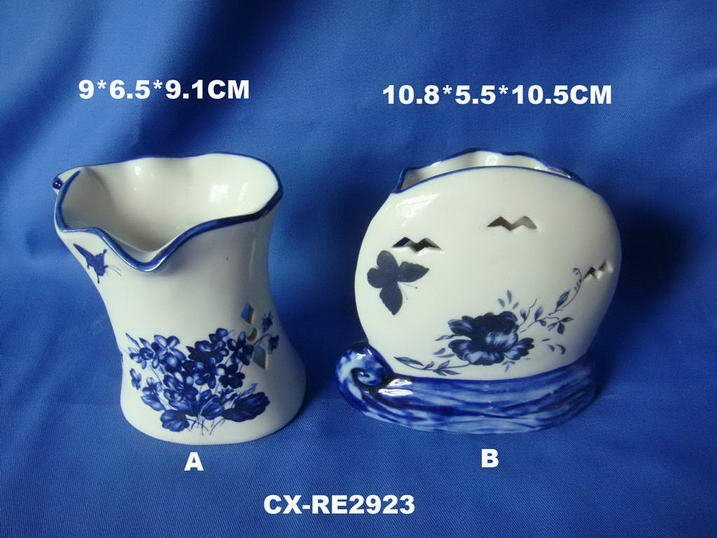 Ceramic Oil Burner-oil lamp base fragrance-ceramic teapot essence scent