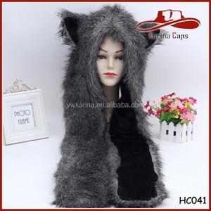 6c0bfbd2667 Animal Hood Hat