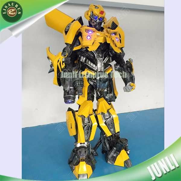 Lisaurus-CH1576 Hand Work Suit Bumblebee Cosplay Costumes Hand Painted Suits