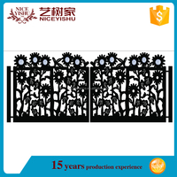 american entrance custom cheap villa laser cut Metal Art Driveway gates, gate design drawings, sample of house gates