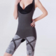 Natural and eco friendly bamboo charcoal far infrared tourmaline seamless body slimming suit shaper