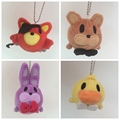 3Inch TSUM TSUM Minnie Five Nights At Freddy s 4 Freddy Fazbear Bear bonnie foxy plush