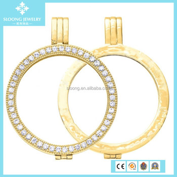 New fashion gold coin pendant necklacedisc holder necklace new fashion gold coin pendant necklacedisc holder necklace pendant mozeypictures Images