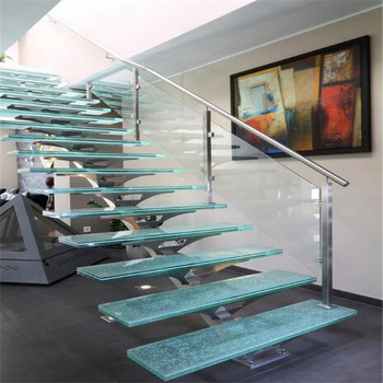 Exceptionnel Modern Prefab Metal Stair Railing Residential Steel Stairs