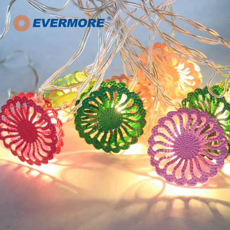 EVERMORE LED Garden Flower String Lights Chain