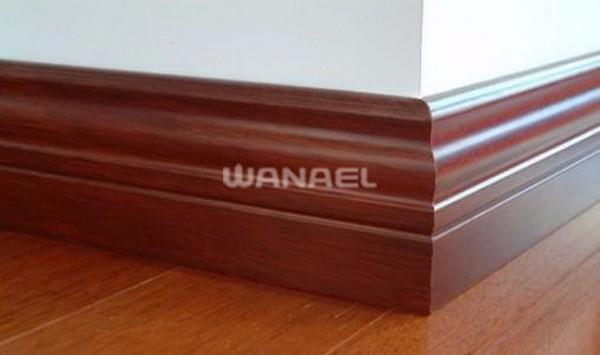 Goedkoop Vinyl Laminaat : Maleisië populaire goedkope prijs vinyl laminaat hout plint lijn