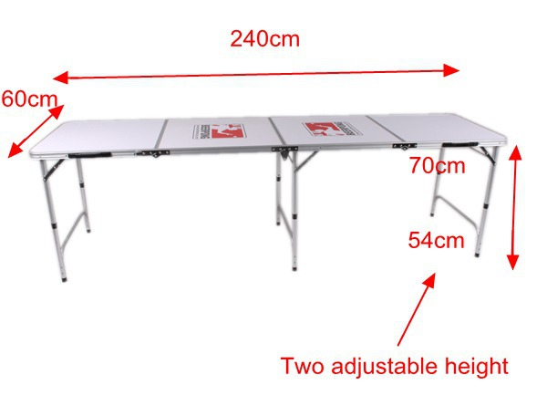 8ft mdf beer pong folding table buy mdf beer pong table folding beer pong game table 8ft - Beer pong table triangle dimensions ...