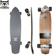 Drop Through Longboard Skateboard Complete for Downhill Cruising Freestyle Riding