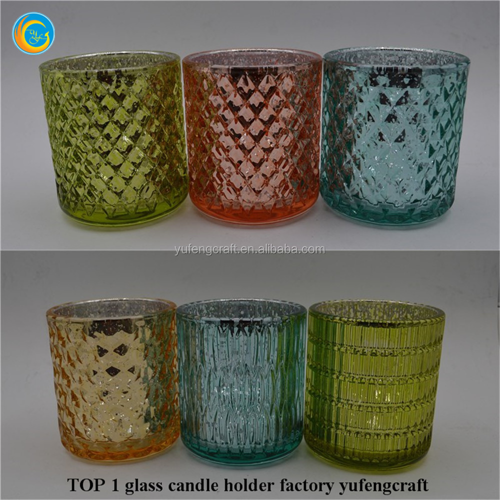 crystal candle containers wholesale