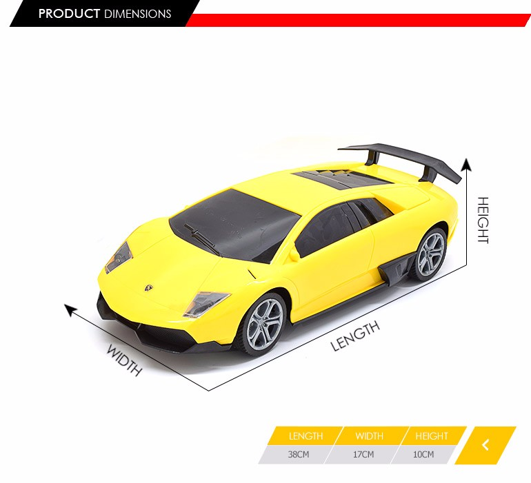 New Arrivals 4 Channel Electric Model Toy Vehicle 1:12