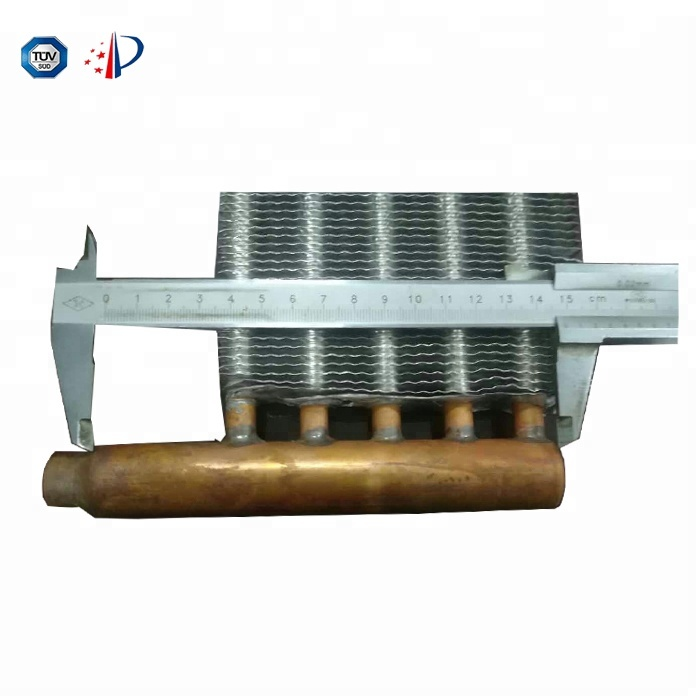 Fuel Heat Exchanger Copper Tube Aluminum Fin