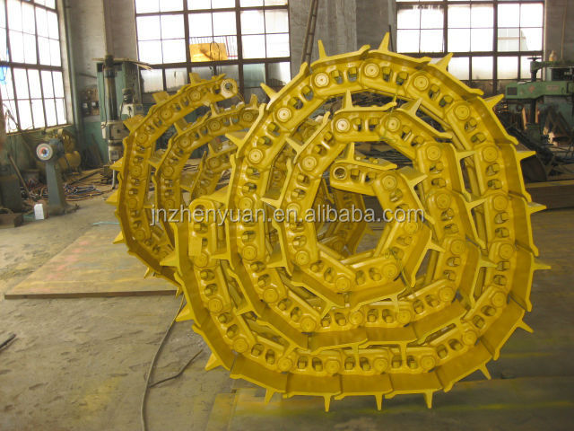 High quality track chain link assy for crawler Excavator and Bulldozer