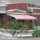 Door Canopy Sun Shade Patio Retractable Awning