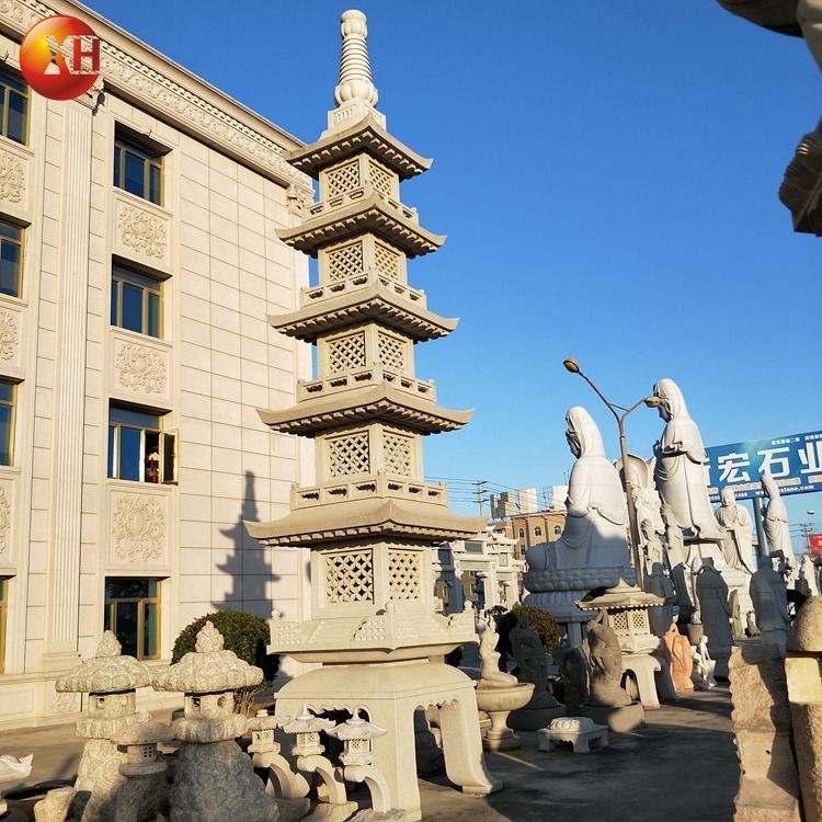 13 Layd Popular Garden Decor Japanese Well Carve Garden Stone Pagoda