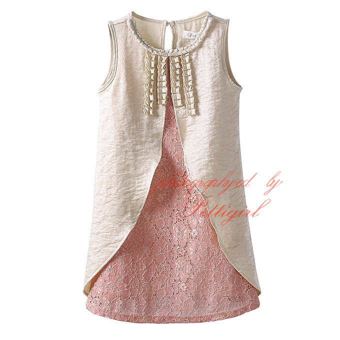 Wholesale Kids Fashion Clothes Arrival Factory Girl Dress Hand ...