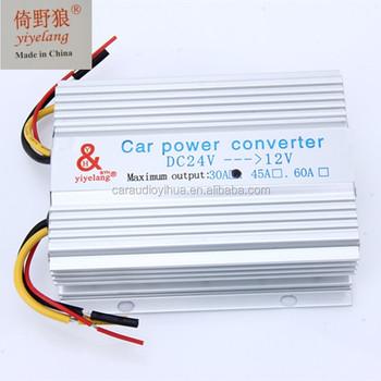 Car Power Supply Transformer Dc 24v To Ac 12v Converter - Buy 24v ...