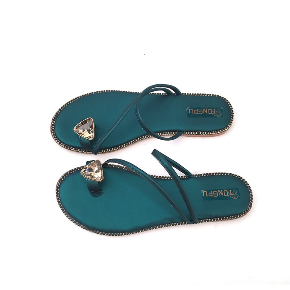 Tongpu cheap summer flip flop flat slippers footwear wholesale women girls