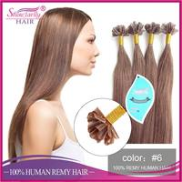 Silky straight russian hair u tip human hair type u tipped human hair extension alibaba express china