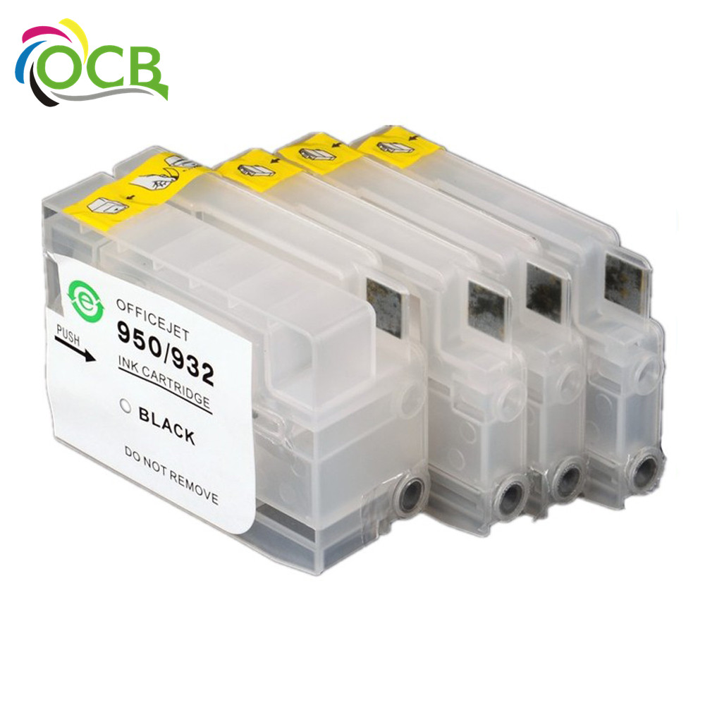 Ocbestjet For HP 932/933 Refill Ink Cartridge For HP Officejet 7110 6700 Premium e-AIO Printer