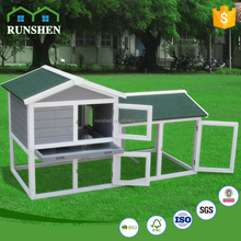2017 Wooden rabbit hutch With Zinc Tray For Sale