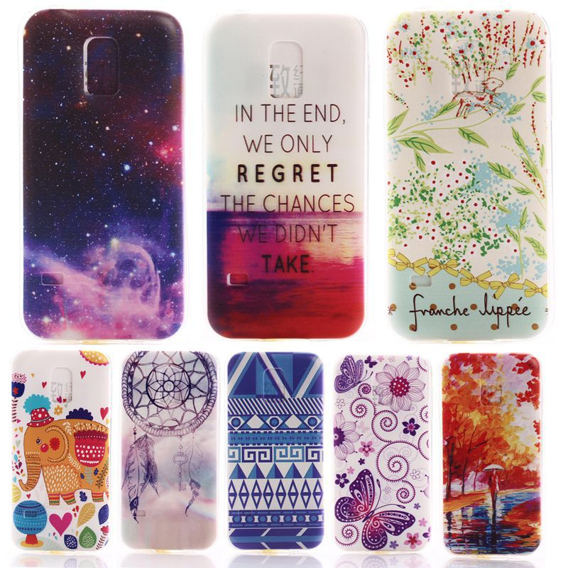 sale retailer ef97c db699 S5 Mini Case Soft Gel Tpu Back Cover Case For Samsung Galaxy S5 Mini Vogue  Capa De Para SM-G800 Phone Cases For Galaxy S5 Mini