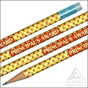 Foil Principal's Award Pencils- 144 pencils per box
