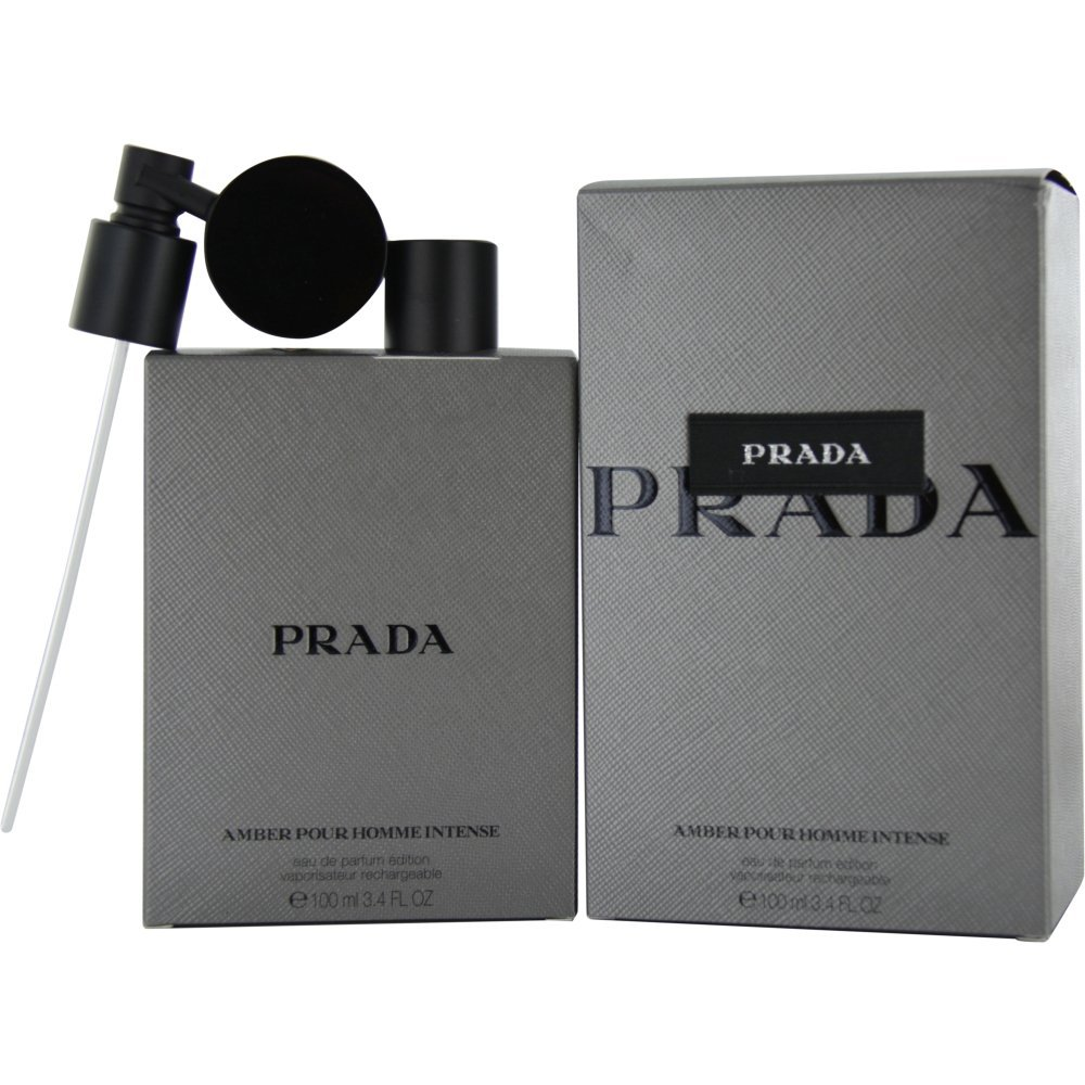 Get Quotations · Prada Amber Pour Homme Intense Eau de Parfum Spray for Men 4e586f6a0f602