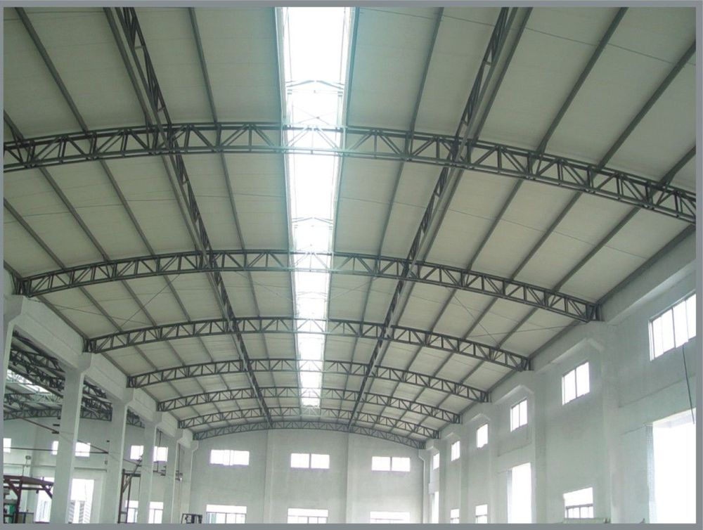 Transparent Plastic Corrugated Roofing Sheet For Warehouse