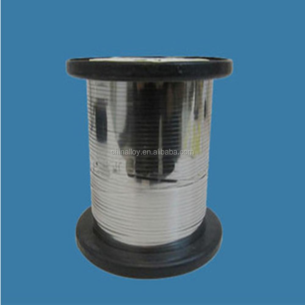0cr23al5 Fecral Alloy Resistance Heating Flat Wire - Buy 0cr23al5 ...