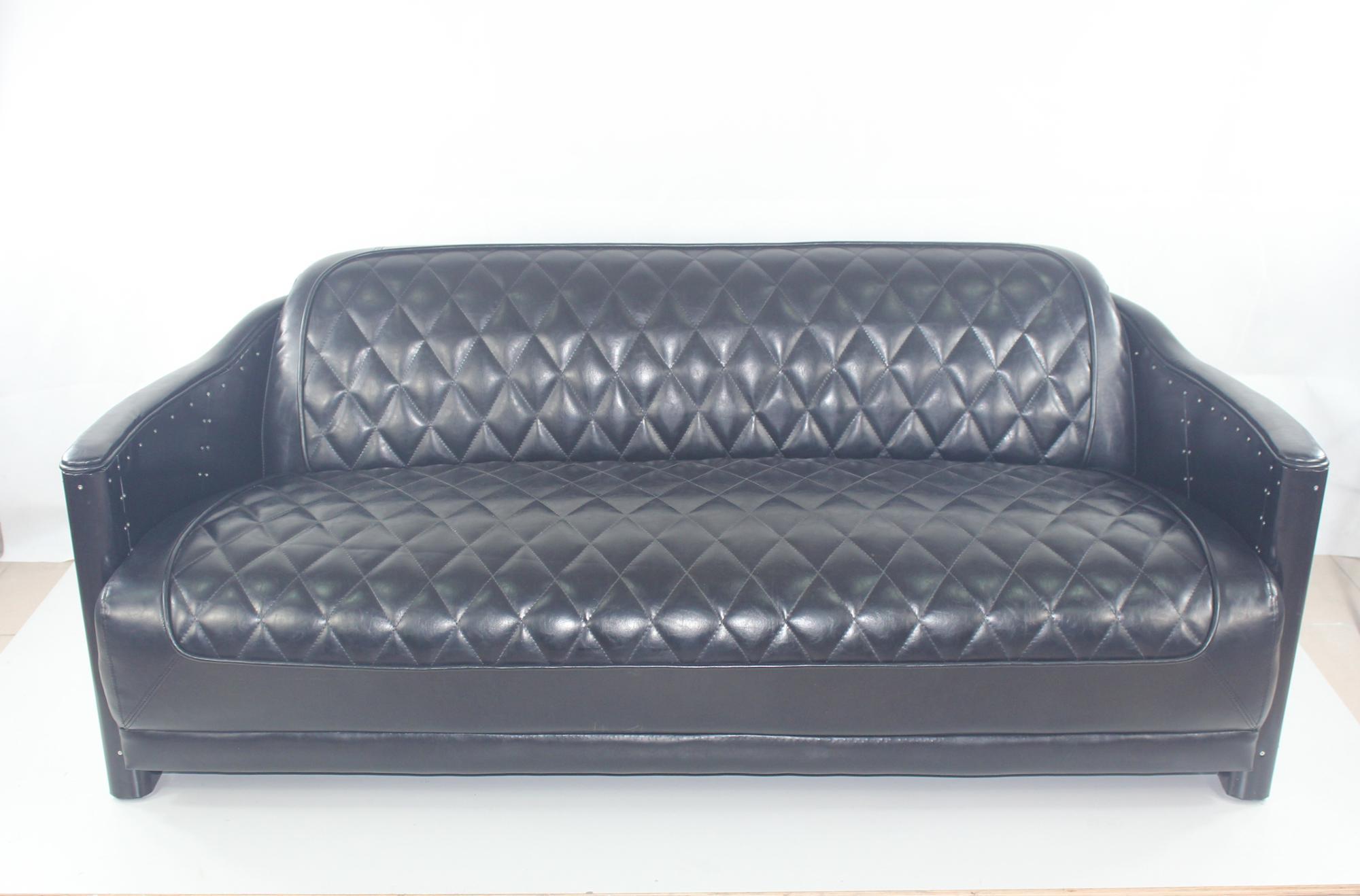 Sedie Vintage Pelle : Aviator vintage design in pelle divano sesso sedia buy product on