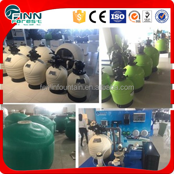 Chinese factory supply water distributor collector sand filter for sale