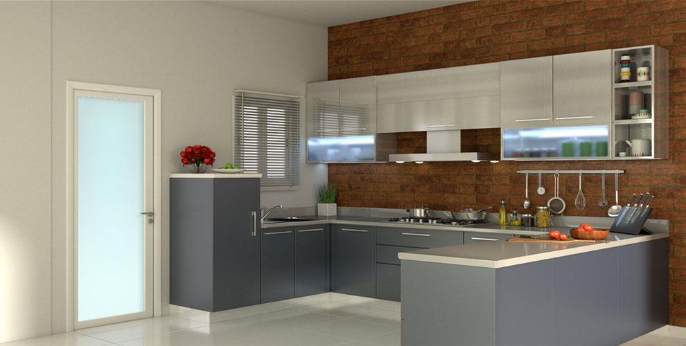 Morden high gloss design kitchen furniture pictures
