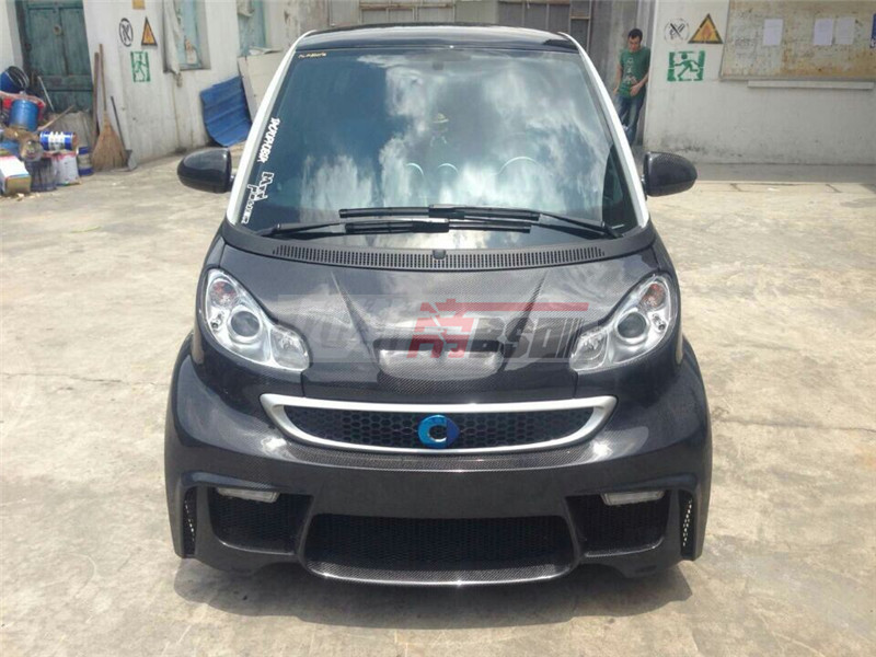 Full Body Kit Auto Parts For 2008 2014 Benz Smart Bsm