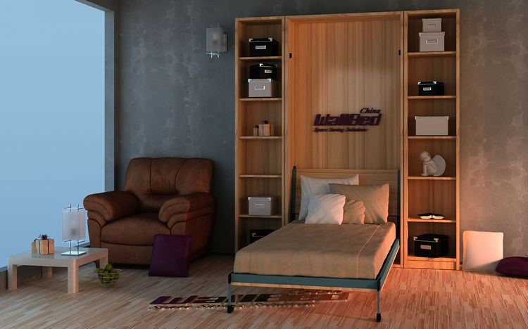 Concealed Bed For Small Apartment