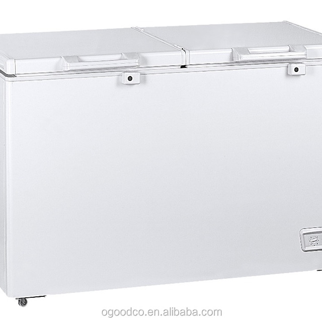 hot sale double doors chest freezer deep freezer cf491 with a energy class