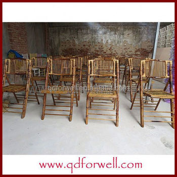 Cheap Natural Clear Lacquer Faux Bamboo Chairs For Party And Wedding